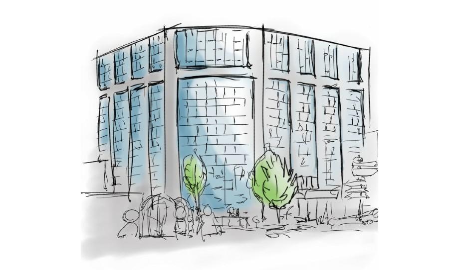 Illustration immeuble - Caprele